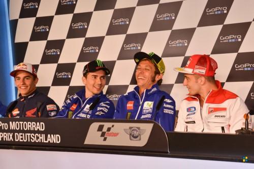 MOTO GP 2015; PRESSEKONFERENZ DER SUPERSTARS